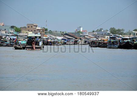 Shack Home, House In Mekong Delta, Vietnam