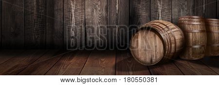 background of barrel whiskey winery beer rum