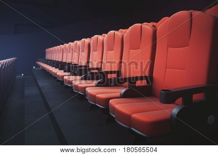 Red Cinema Chairs Seats