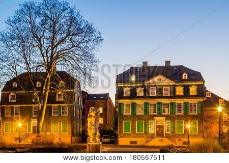 The Engels House in Wuppertal Barmen Germany