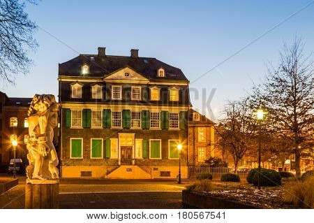 Engels House in Wuppertal Barmen NRW Germany