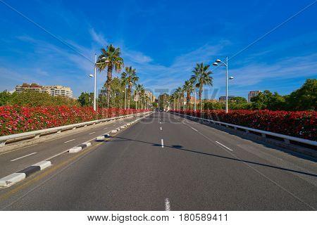 Valencia Puente de las Flores flowers bridge in Spain