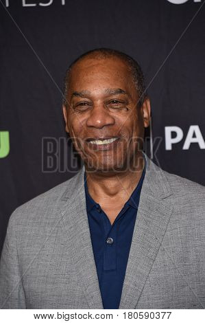 LOS ANGELES - MAR 26:  Joe Morton arrives for the PaleyFest LA 2017-Scandal on March 26, 2017 in Hollywood, CA