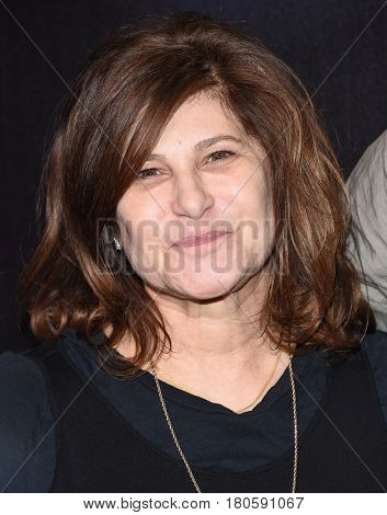 LOS ANGELES - MAR 28:  Amy Pascal arrives for the CinemaCon 2017-STX Films
