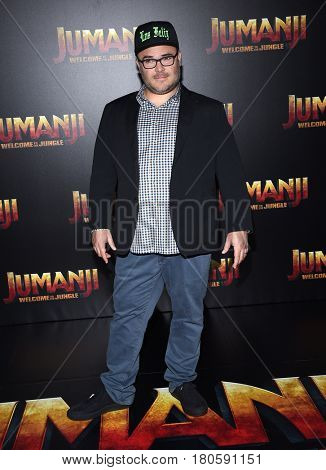 LOS ANGELES - MAR 27:  Jack Black arrives for the CinemaCon 2017-Sony Pictures on March 27, 2017 in Las Vegas, NV