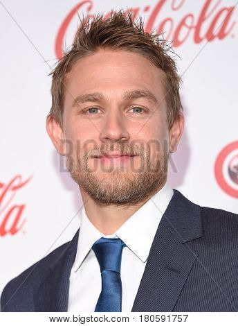 LOS ANGELES - MAR 30:  Charlie Hunnam arrives for the CinemaCon 2017-Awards Presentation on March 30, 2017 in Las Vegas, NV