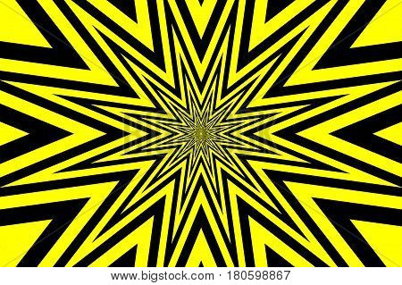 star - abstract geometric black background ,
