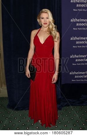 NEW YORK-JUN 8: Ashley Campbell, daughter of singer Glen Campbell, attends Alzheimer's Association New York City Chapter's 2015