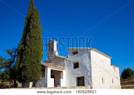 Ermita de Loreto chapel in Chelva at Valencia Spain
