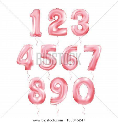 Metallic Red Letter Balloons, 123 golden numeral alphabeth. Pink Number Balloons, 1, Alphabet Letter Balloons, 2, Number Balloons, 3 Air Filled Balloon