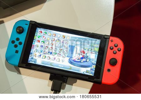 The New Nintendo Switch At Fuorisalone 2017