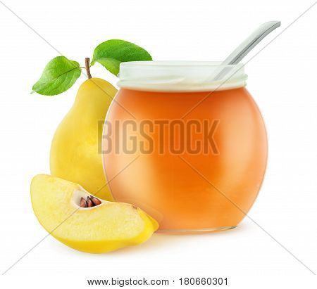 Isolated Quince Jam