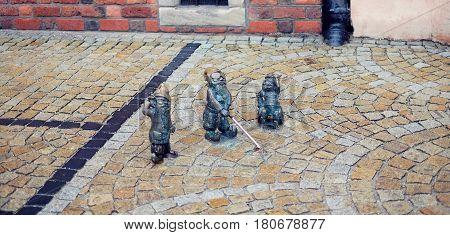 Three Little Dwarfs