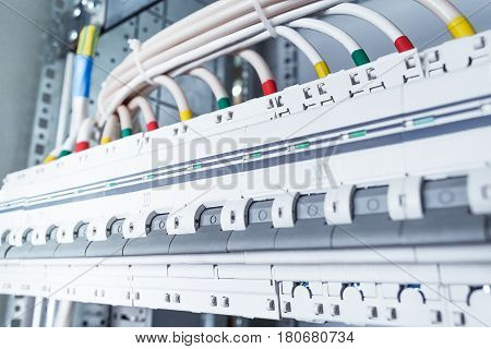 Connecting Cables With Cable Lugs To Circuit Breakers.