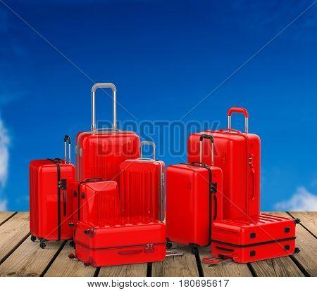 Rec Hard Case Luggages