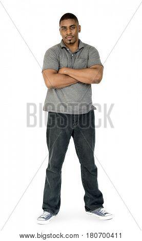 Adult Solo Man Portrait Studio