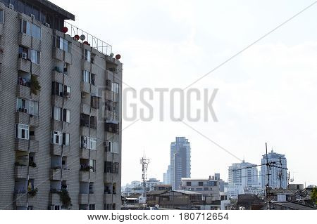 View Of Bangkok Skyline