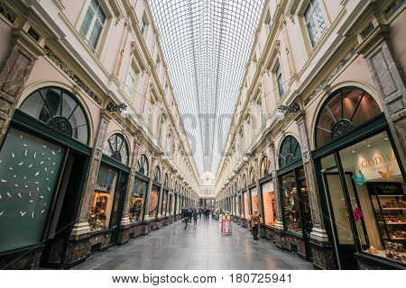 Galeries Royales Saint-hubert In Brussels