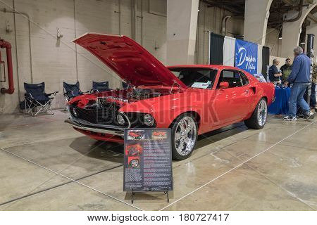 Ford Mustang Mach 1 On Display