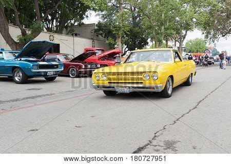 Chevrolet El Camino Ss On Display