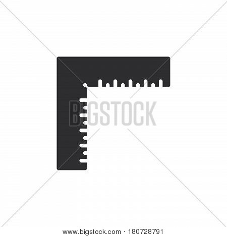 Precision square icon vector filled flat sign solid pictogram isolated on white. Symbol logo illustration. Pixel perfect
