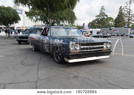 Chevrolet El Camino On Display