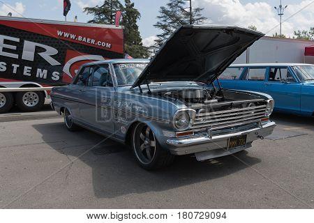Chevrolet Nova On Display