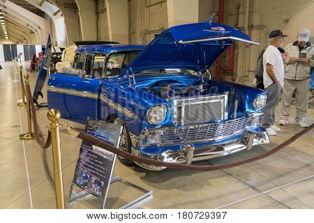 Chevrolet Nomad On Display