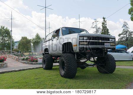 Big Truck On Display