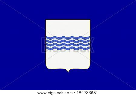 Flag of Basilicata also known as Lucania is a region in the south of Italy. Vector illustration