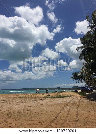 Playa Balneario La Monserrate beach in Puerto Rco
