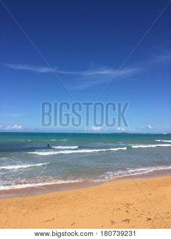 Balneario la Monserrate beach, Luquillo, Puerto Rico