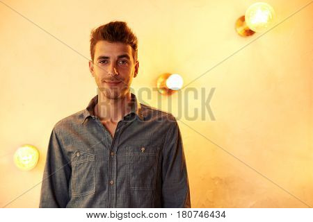 Millennial Posing With A Naughty Smile