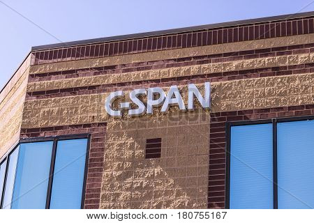 West Lafayette - Circa April 2017: C-span Video Library And Archives, Maintained At Purdue Research