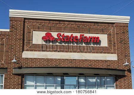 Lafayette - Circa April 2017: State Farm Insurance Agent Location. State Farm Offers Insurance And F