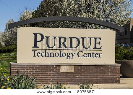 West Lafayette - Circa April 2017: Purdue Technology Center. This Facility Is The Original Incubator