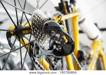 Road bike gear components / bicycle equipment