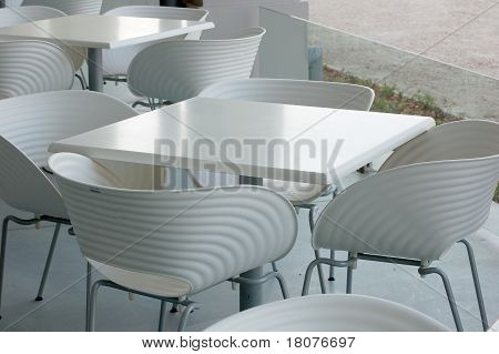 Cafeteria is waiting