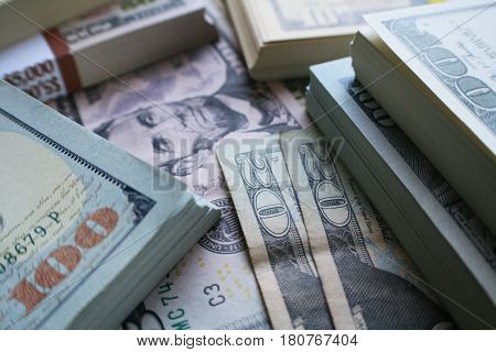 Business And Finance Profits Close Up High Quality