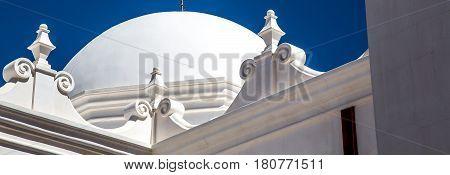 The dome of church near Tucson AZ.