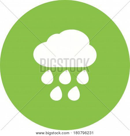 Rain, heavy, hurricane icon vector image. Can also be used for disasters. Suitable for mobile apps, web apps and print media.