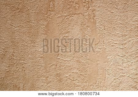 Wall with a corrugated structure. Embossed texture