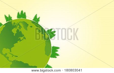 Earth day design vector art collection stock