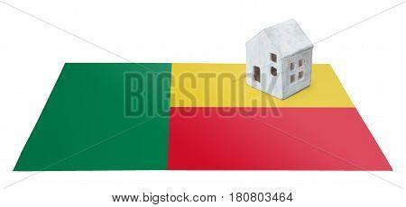 Small House On A Flag - Benin