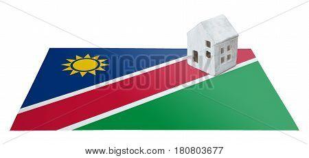 Small House On A Flag - Namibia
