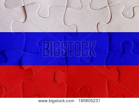Russian Federation Flag Puzzle