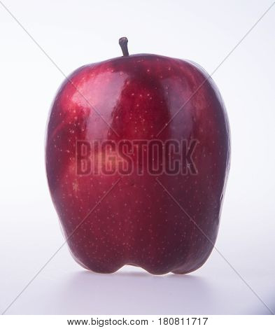 Apple Or Red Apple On A Background.