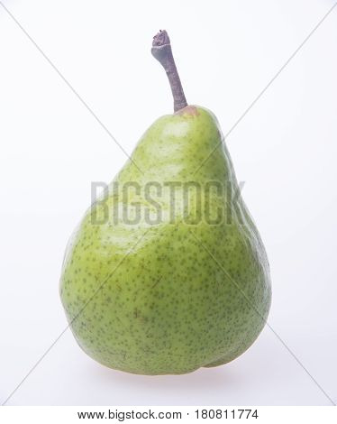 Pears Or Green Pears On A Background.
