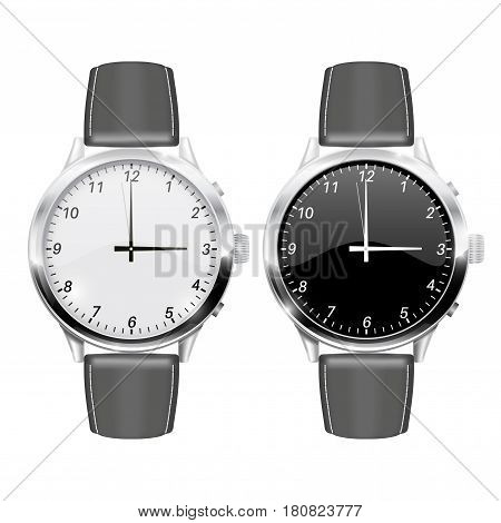 Watch. Vector illustration isolated on white background