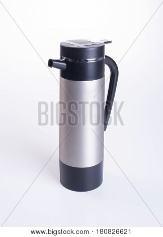 Thermo Or Thermo Flask On A Background.